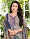 photo of Karishma Kapoor Printed Office Wear Salwar Suit In Satin Fabric