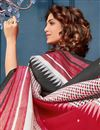 photo of Casual Style Multi Color Bhagalpuri Silk Fabric Printed Saree