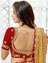 photo of Eid Special Embroidery Work On Designer Lehenga In Yellow Art Silk Fabric With Likable Blouse