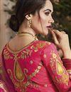 picture of Designer Wedding Wear Yellow Embellished Jacquard Silk Fabric Fancy Lehenga