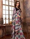 image of Casual Wear Manipuri Art Silk Style Designer Saree In Multi Color