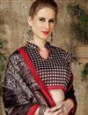 photo of Art Silk Traditional Designer Weaving Work Saree In Brown