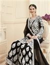 photo of Eid Special Black Georgette Fabric Festive Wear Sharara Palazzo Salwar Suit With Embroidery Work