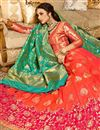image of Silk Fabric Pink Color Occasion Wear Lehenga Choli With Jacquard Work