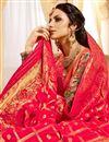 photo of Pink Color Silk Fabric Occasion Wear Lehenga Choli With Jacquard Work
