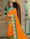 image of Jacquard Work Art Silk Fabric Stylish Function Wear Saree