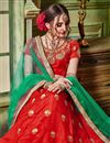 photo of Art Silk Fabric Wedding Wear Embroidered Lehenga Choli