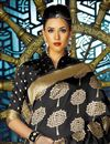 photo of Festive Wear Fancy Weaving Work Saree In Black