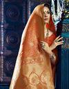 photo of Festive Wear Fancy Weaving Work Saree In Red