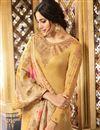 photo of Festive Wear Straight Cut Salwar Suit In Satin Georgette Fabric Cream Color