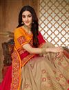 photo of Red Art Silk Fabric Festive Saree With Embroidery Work And Gorgeous Blouse