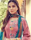photo of Pink Color Printed Designer Palazzo Salwar Suit In Pashmina Fabric