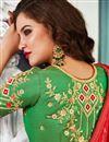 photo of Beige Wedding Wear 3 Piece Lehenga In Jacquard Silk With Embroidery Work