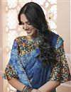 photo of Festive Wear Classic Chiffon Digital Printed Saree In Multi Color