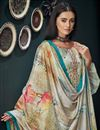 photo of Fancy Fabric Printed Daily Wear Palazzo Suit In Cream