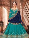 image of Georgette Fabric Party Wear Anarkali Salwar Suit