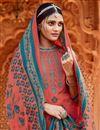 photo of Pashmina Fabric Pink Color Casual Wear Palazzo Salwar Kameez