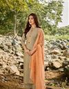 image of Chanderi Fabric Party Wear Palazzo Salwar Suit
