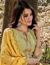 photo of Occasion Wear Sea Green Color Embroidered Salwar Kameez