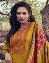 photo of Occasion Wear Yellow Color Embroidered Salwar Kameez