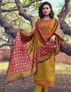 image of Occasion Wear Yellow Color Embroidered Salwar Kameez