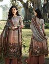 image of Multi Color Printed Casual Wear Trendy Salwar Suit In Crepe Fabric