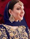 photo of Georgette Fabric Party Wear Designer Anarkali Suit