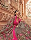photo of Art silk Dark Beige Color Wedding Wear Saree With Embroidery Work And Gorgeous Blouse