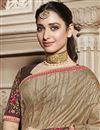 photo of Tamannaah Bhatia Function Wear Designer Art Silk Lace Border Work Saree In Cream