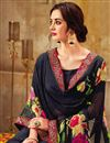 photo of Black Casual Wear Printed Georgette Saree