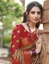 photo of Multi Color Art Silk Fancy Printed Casual Saree