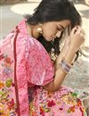 photo of Office Wear Georgette Fabric Simple Printed Saree In Peach Color