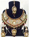 image of Traditional Festive Wear Designer Necklace Set