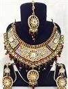 image of Traditional Festive Wear Designer Necklace Set