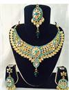 image of Divine Wedding Wear Designer Necklace Set