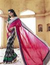 image of Holiday Inspired Pink Party Wear Saree