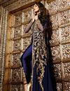 photo of Malaika Arora Embroidered Designer Georgette Salwar Suit in Blue Color