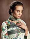 photo of Designer Cotton Fabric Digital Printed Casual Wear Palazzo Suit