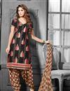 image of Amazing Black Color Party Wear Patiala Salwar Suit