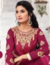 photo of Venerable Pink Color Embroiderd Georgette Party Wear Salwar Kameez
