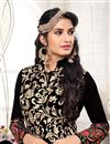 photo of Gorgeous Black Color Georgette Designer Salwar Kameez With Embroidery Work