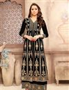 image of Georgette Embroidered Fancy Anarkali Salwar Suit