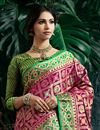 photo of Magenta Color Designer Party Wear Art Silk Fancy Weaving Work Saree