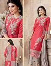 photo of Mouni Roy Dark Pink Designer Salwar Kameez