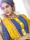 photo of Straight Cut Party Wear Cotton Salwar Suit