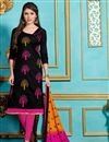 image of Striking Black Designer Salwar Kameez