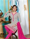 photo of Classic Grey Color Cotton Salwar Suit