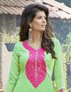 photo of Attractive Green Designer Salwar Kameez