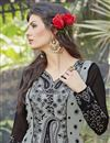 photo of Grey Color Georgette Beautiful Suit