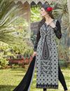 image of Grey Color Georgette Beautiful Suit